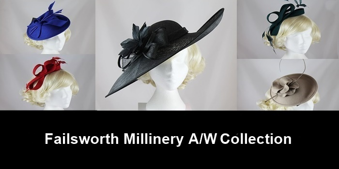 Failsworth Millinery 2015 Autumn/Winter Collection