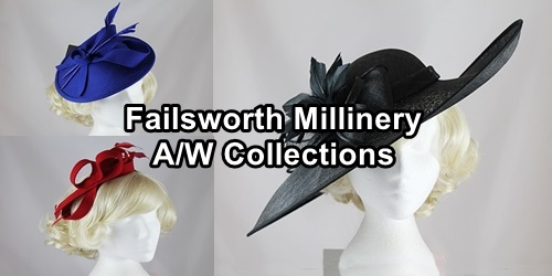 Failsworth Millinery Autumn/Winter Collection